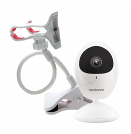 EVA + Кронштейн - внутренняя мини IP видеокамера 2 Мп с кронштейном, ver. 4486