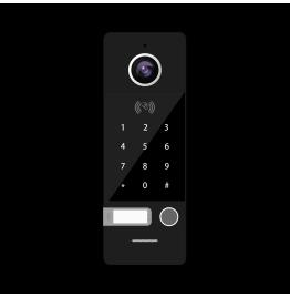 FANTASY ERK BLACK - вызывная панель 800ТВЛ со СКУД, ver. 4494