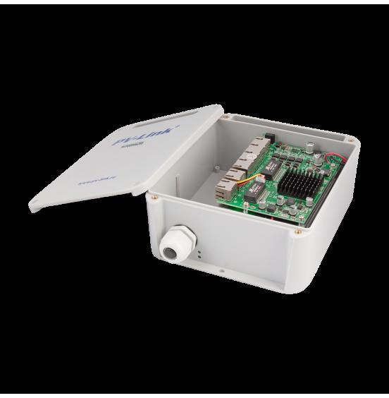 PV-POE04G2W - 6 портовый всепогодный коммутатор с 4 портами POE 10/100 Мбит/c, 2 портами LAN 10/100/1000 Мбит/c, ver. 2059