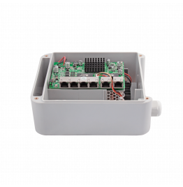 PV-POE04G2W - 6 портовый всепогодный коммутатор с 4 портами POE 10/100 Мбит/c, 2 портами LAN 10/100/1000 Мбит/c, ver. 279