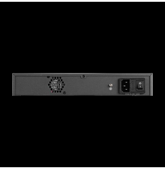 PV-POE16G2F1 - 19 портовый коммутатор с 16 портами PoE 10/100 Мбит/с, 1 портом 100/1000 Мбит/с, 1 комбо-портом, ver. 2038