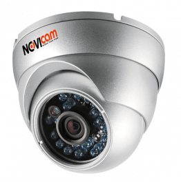 AC12W - купольная уличная AHD видеокамера 1 Мп, ver. 1160